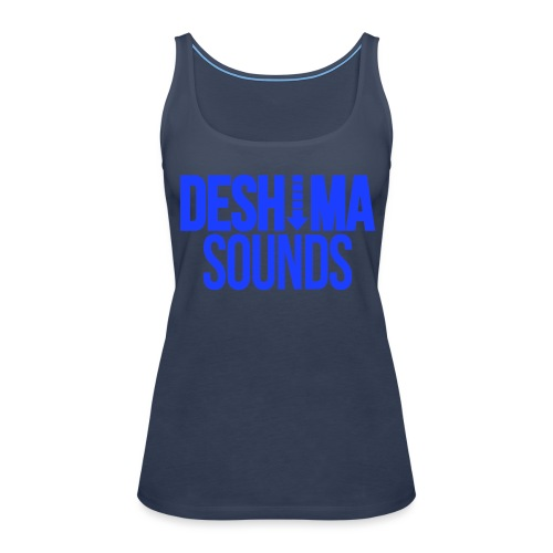 Blue - Women's Premium Tank Top