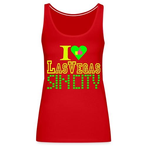 i like Vegas life Vegas alive - Women's Premium Tank Top