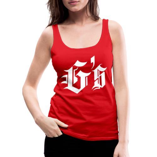 Gymsroka - Camiseta de tirantes premium mujer