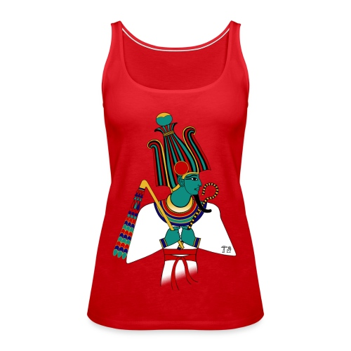 Osiris I altägyptische Gottheit - Frauen Premium Tank Top