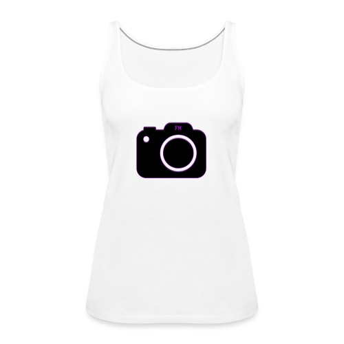 FM camera - Women's Premium Tank Top