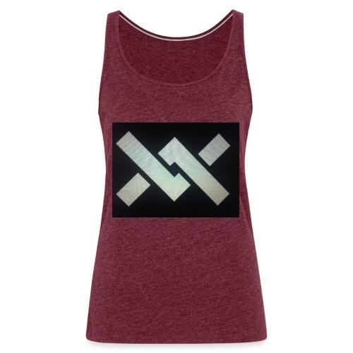 Original Movement Mens black t-shirt - Women's Premium Tank Top