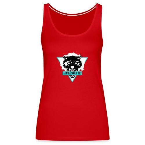 Black logo - Women's Premium Tank Top