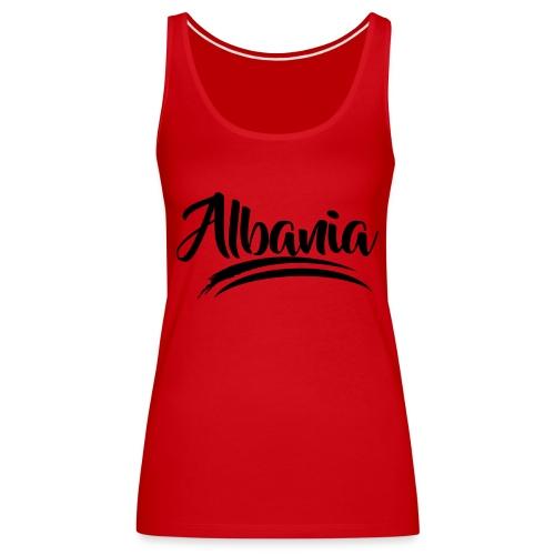 albania modern - Frauen Premium Tank Top