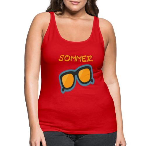 Sommer Sonnenbrille - Frauen Premium Tank Top