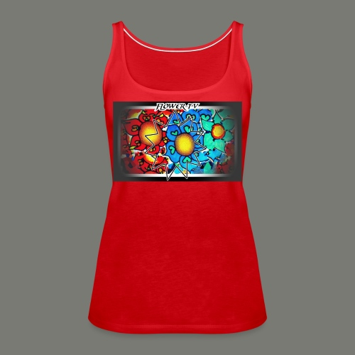 Flower TV - Frauen Premium Tank Top
