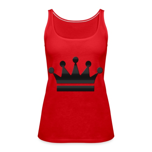 crown - Vrouwen Premium tank top