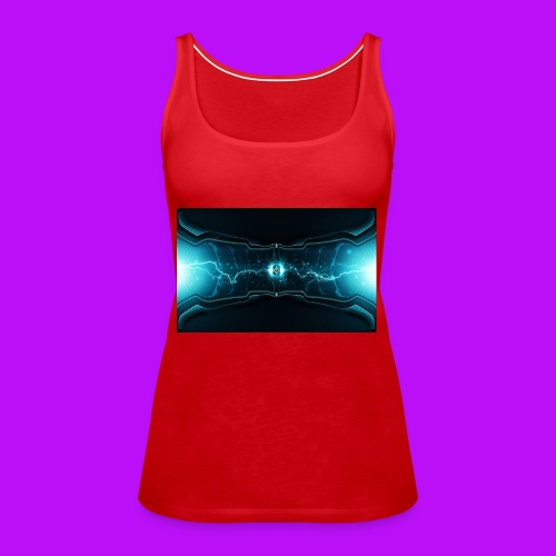 lightning cell - Women's Premium Tank Top