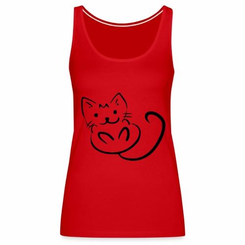 Kitten - Canotta premium da donna