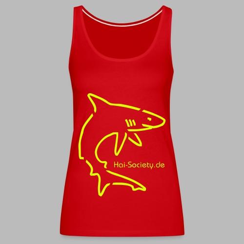 Lustiger Hai Society Hai - Frauen Premium Tank Top