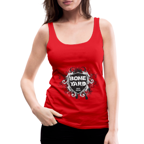 BoneYard Shield - Vrouwen Premium tank top
