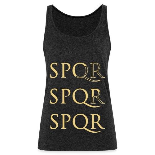 spqr - Camiseta de tirantes premium mujer