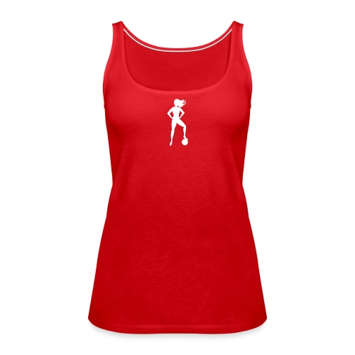 Football Babe - Play footy - Women's Premium Tank Top