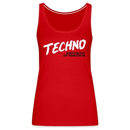 Techno music - Women's Premium Tank Top