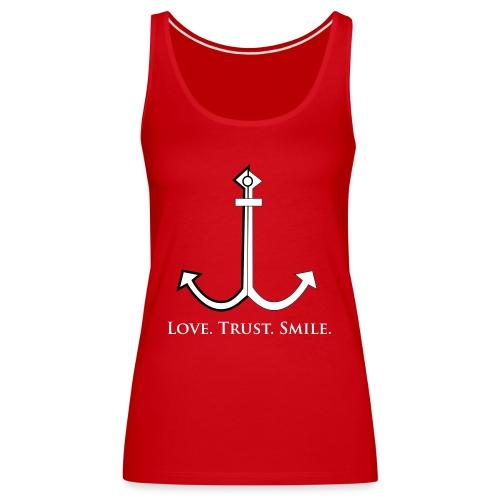 Love Trust Smile - Frauen Premium Tank Top