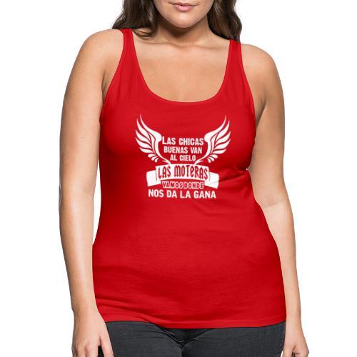 Las chicas buenas van al cielo - Camiseta de tirantes premium mujer