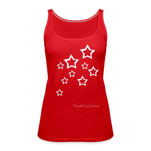Streetworker Art by Marcello Luce 2018 - Stars - Frauen Premium Tank Top