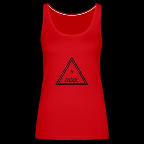 5nexx triangle - Vrouwen Premium tank top