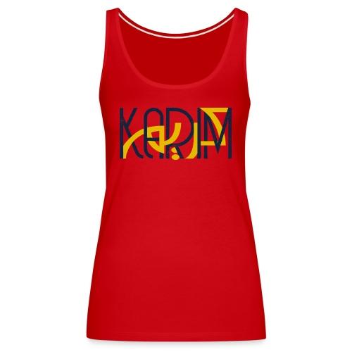 T-Shirt Prenom Arabe KARIM - Débardeur Premium Femme