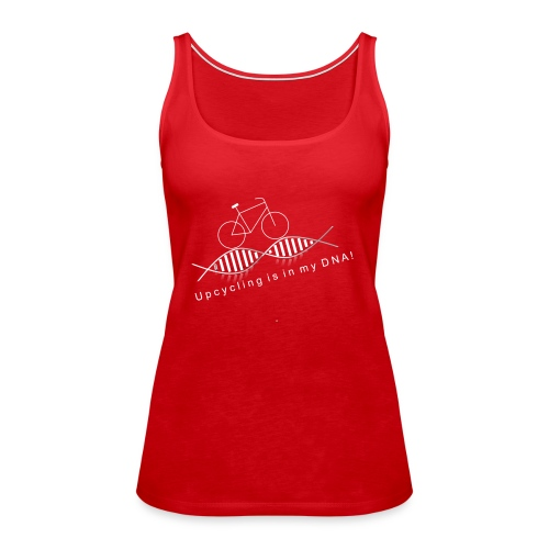 Life Cycle `n` Style: Up - Cycling is in my DNA - Frauen Premium Tank Top