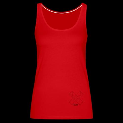 the way to win - Camiseta de tirantes premium mujer