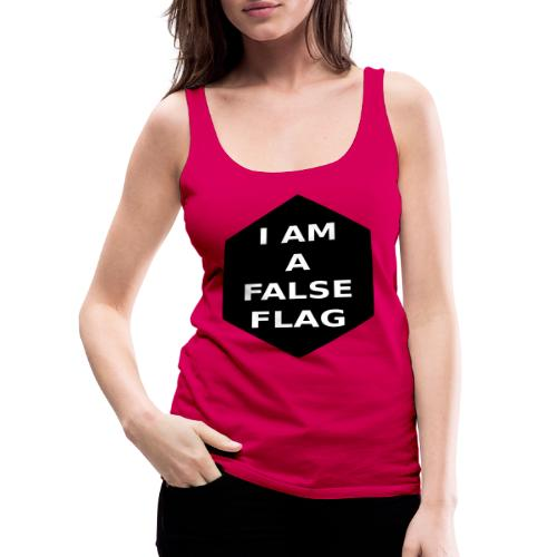 I am a false flag - Frauen Premium Tank Top