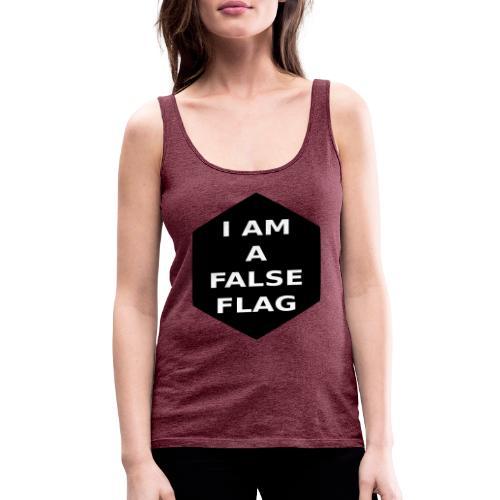 I am a false flag - Frauen Premium Tank Top
