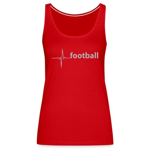 football - Frauen Premium Tank Top