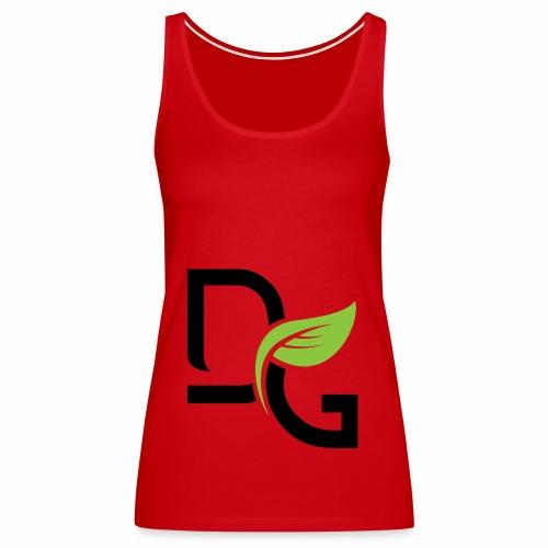DrGreen Logo Symbol schwarz grün - Frauen Premium Tank Top