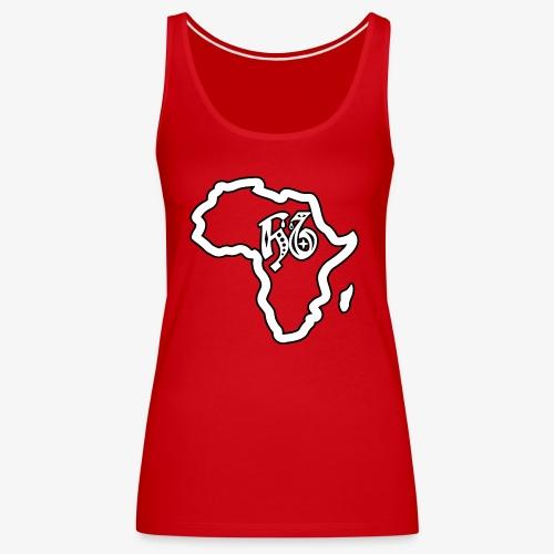 afrika pictogram - Vrouwen Premium tank top