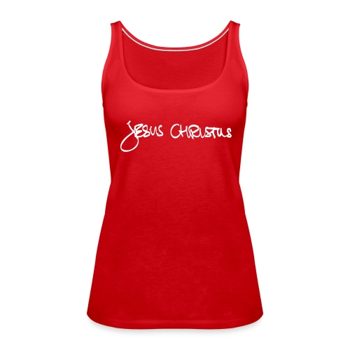 JesusChristus handwrite - Frauen Premium Tank Top