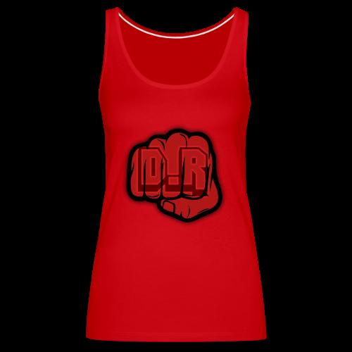 DigitalRelic Big Fist Logo - Premiumtanktopp dam