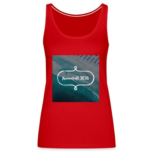 Knowitall 2016 - Women's Premium Tank Top