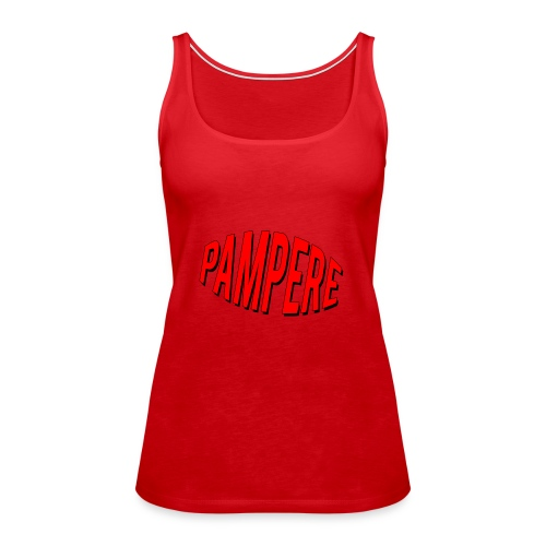 pampere - Tank top damski Premium