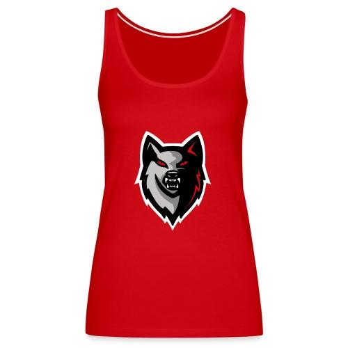 Craigy B! Wolf Design. - Women's Premium Tank Top