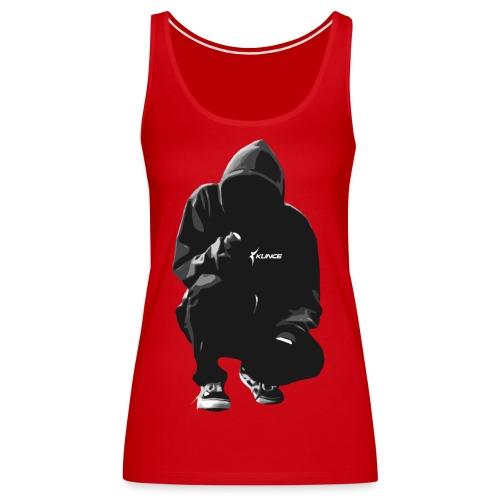 Kunce Clothing Original Hoodie B/W Trace - Women's Premium Tank Top