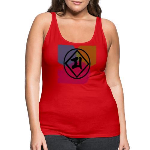 Logo Japones color - Camiseta de tirantes premium mujer