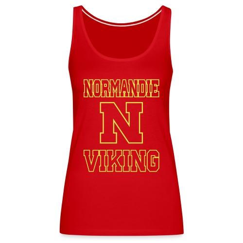 Normandie Viking Def jaune - Débardeur Premium Femme