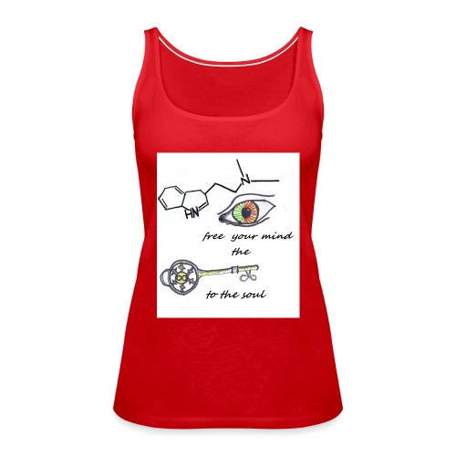 Free your mind - Vrouwen Premium tank top