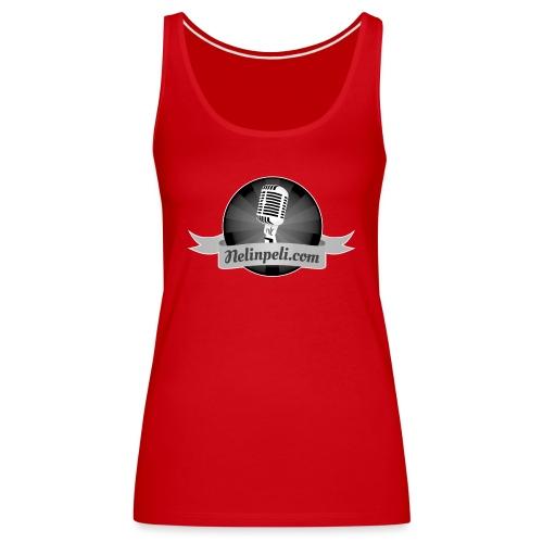 Nelinpelin logo MV - Naisten premium hihaton toppi