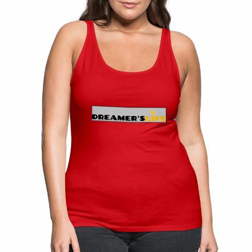 113372554 135123437 Logo DREAMER SLIFE GRIS - Débardeur Premium Femme