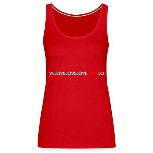 Velo Love - Women's Premium Tank Top