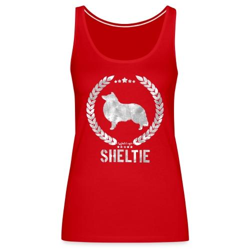 sheltiearmy3 - Women's Premium Tank Top