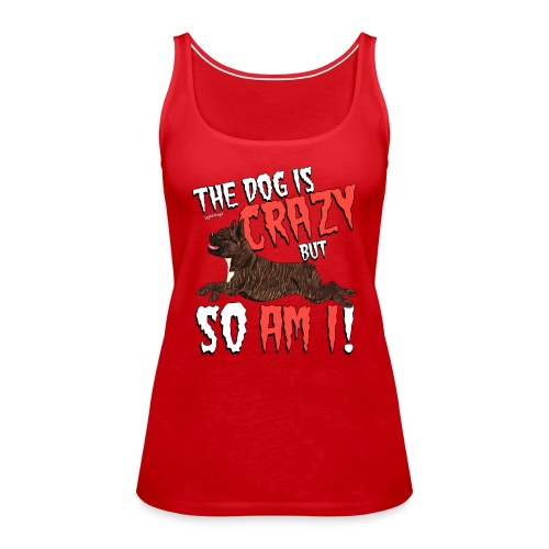 frenchiecrazy2 - Women's Premium Tank Top