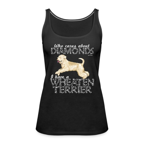 Wheaten Terrier Diamonds 4 - Women's Premium Tank Top