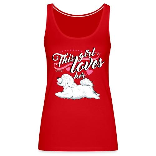 Coton De Tuléar Girl - Women's Premium Tank Top