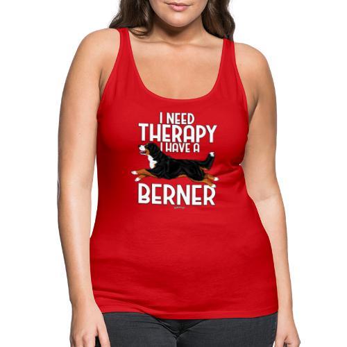 Bernese Berner Therapy 2 - Naisten premium hihaton toppi