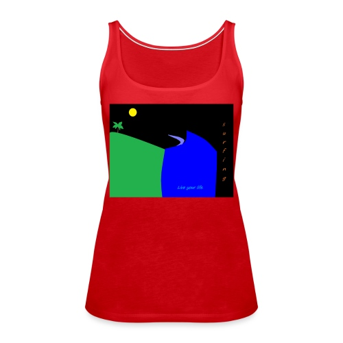mateo - Camiseta de tirantes premium mujer