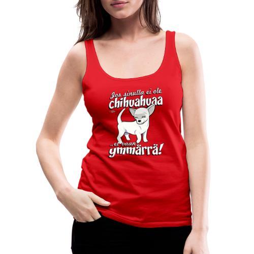 chihuymmarra8 - Naisten premium hihaton toppi