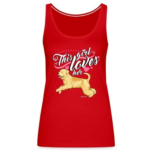 Wheaten Terrier Girl 2 - Women's Premium Tank Top